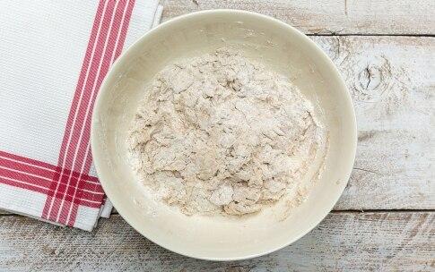 Preparazione Pane alle mele e noci - Fase 1