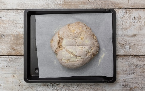 Preparazione Pane alle mele e noci - Fase 5