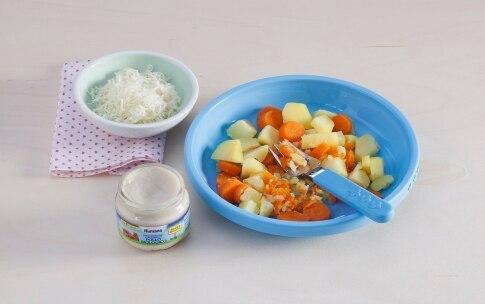Preparazione Polpettine al pollo e formaggio  - Fase 1