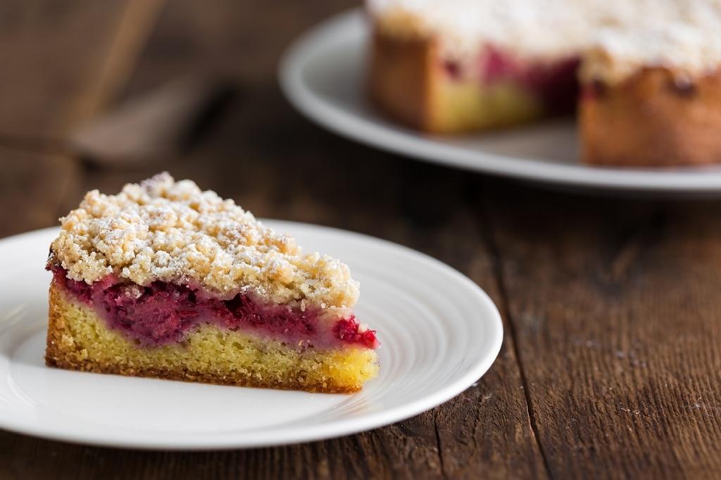 Streusel cake ai frutti di bosco