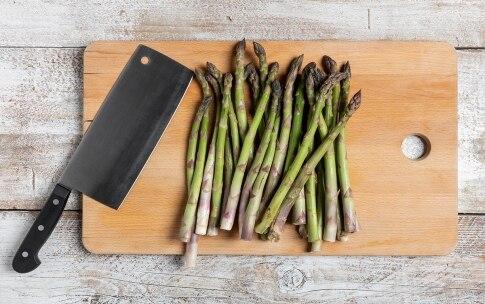 Preparazione Asparagi con cottura a bassa temperatura - Fase 1