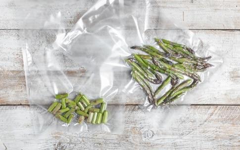 Preparazione Asparagi con cottura a bassa temperatura - Fase 2