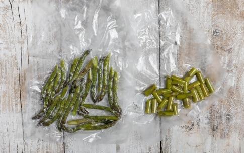 Preparazione Asparagi con cottura a bassa temperatura - Fase 3