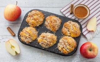 Muffin alle mele e briciole di...