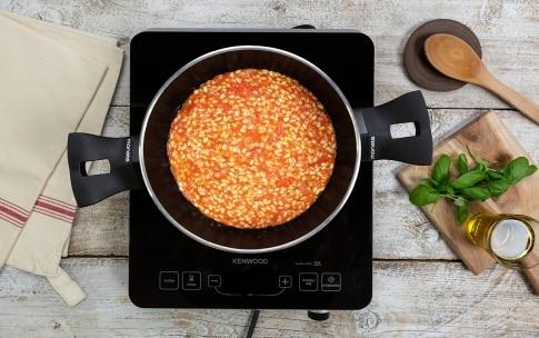Preparazione Orzotto al pomodoro e burrata - Fase 1