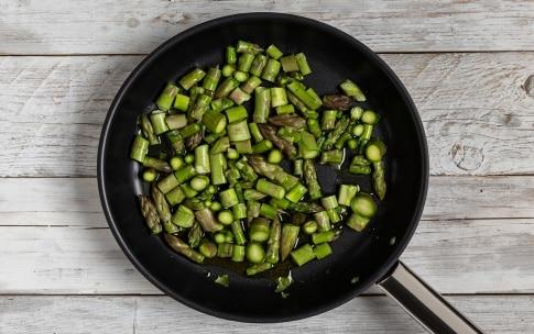 Preparazione Pasta con gli asparagi - Fase 1