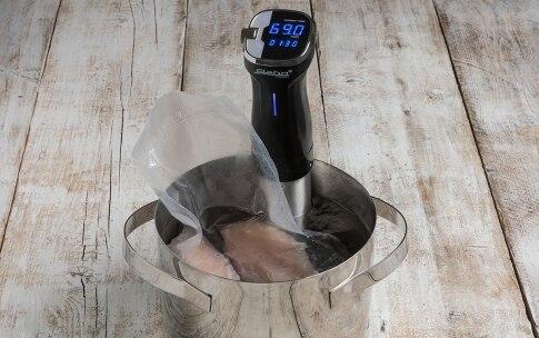 Preparazione Petto di pollo con cottura a bassa temperatura - Fase 2