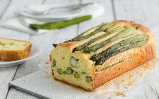 Plumcake salato agli asparagi