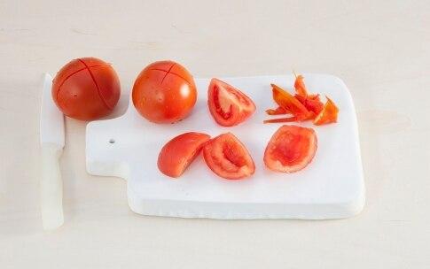 Preparazione Timballino al vitello con pomodori   - Fase 1