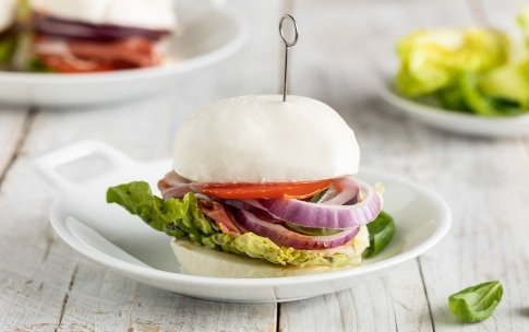 Preparazione Hamburger di mozzarella - Fase 3
