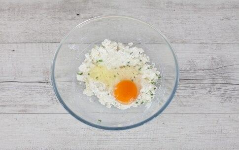Preparazione Torta salata con asparagi, ricotta, erba cipollina e gruyère  - Fase 1