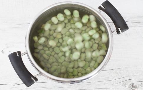 Preparazione Pasta con le fave - Fase 1