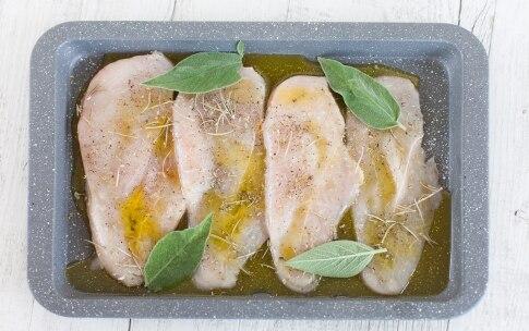 Preparazione Petto di pollo al forno - Fase 1