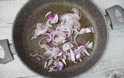 Preparazione Bulgur con verdure e feta - Fase 1