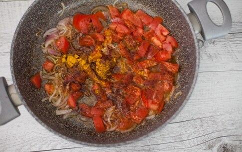 Preparazione Bulgur con verdure e feta - Fase 2