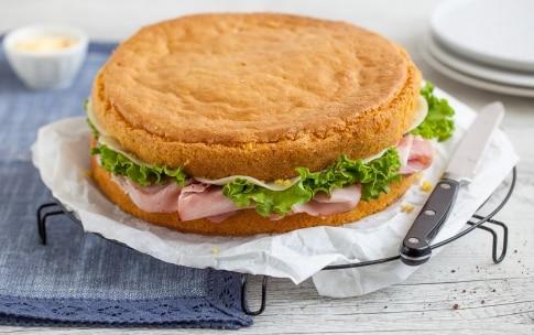 Preparazione Pan di Spagna salato - Fase 3