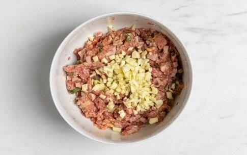 Preparazione Zucchine ripiene di carne - Fase 3