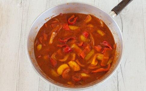 Preparazione Pasta con i peperoni - Fase 2