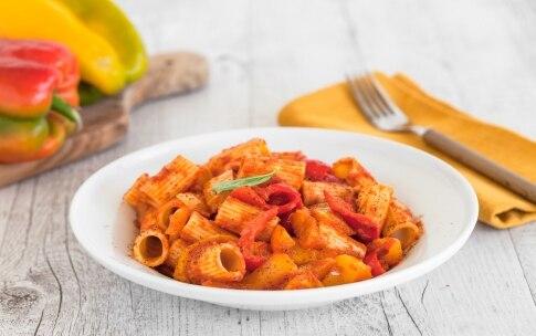 Preparazione Pasta con i peperoni - Fase 3