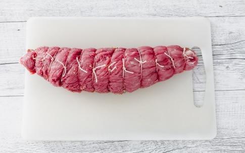 Preparazione Arrosto di maiale con pesche nettarine caramellate  - Fase 2
