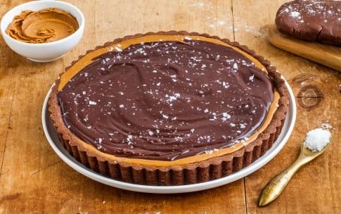 Preparazione Crostata al cioccolato e burro di arachidi  - Fase 4