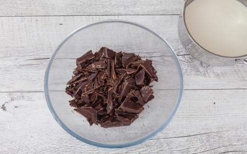 Preparazione Crostata al cioccolato e burro di arachidi  - Fase 3
