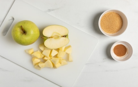 Preparazione Crostata mele e cannella - Fase 1