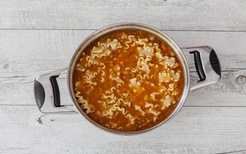 Preparazione Pasta e lenticchie - Fase 2