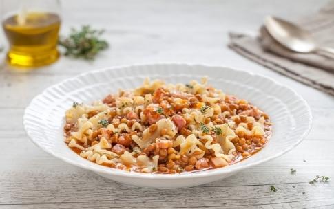 Preparazione Pasta e lenticchie - Fase 3