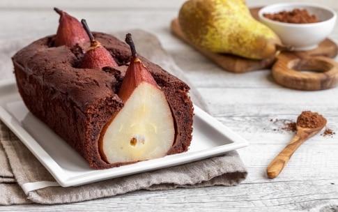 Preparazione Plumcake al cacao e pere  - Fase 3