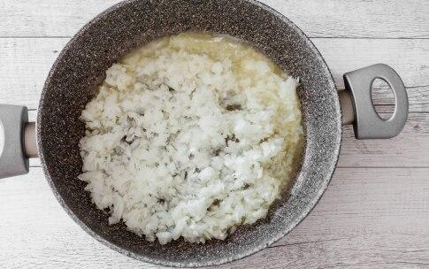 Preparazione Tagliatelle al prosciutto crudo - Fase 3