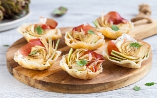 Canestrini di parmigiano