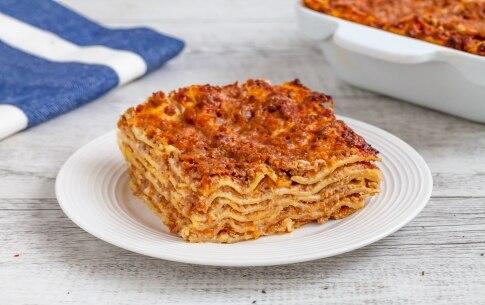 Preparazione Lasagne senza besciamella - Fase 6