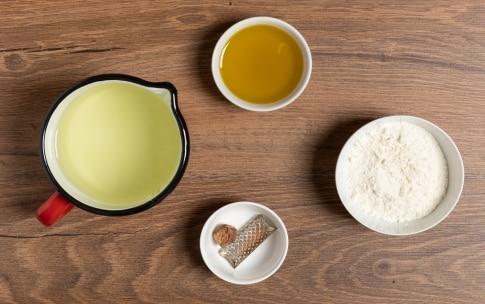Preparazione Besciamella senza latte - Fase 1