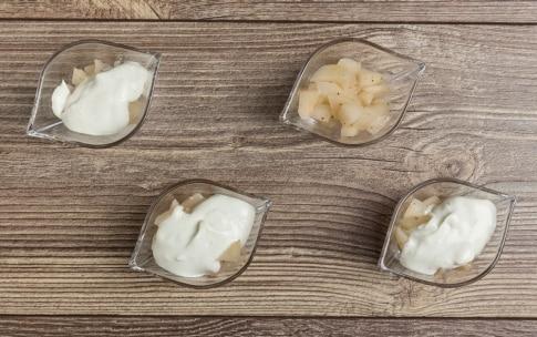 Preparazione Crema di Roquefort e pere - Fase 3