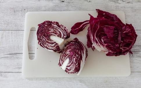 Preparazione Insalata di radicchio di Chioggia con quinoa, mirtilli rossi e pistacchi  - Fase 1