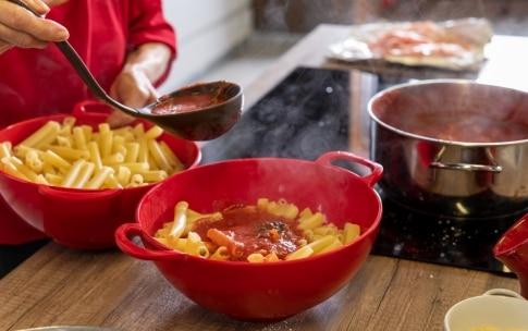 Preparazione Pasta al forno di nonna Giovina - Fase 2
