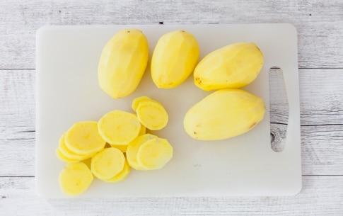 Preparazione Patate gratinate - Fase 1