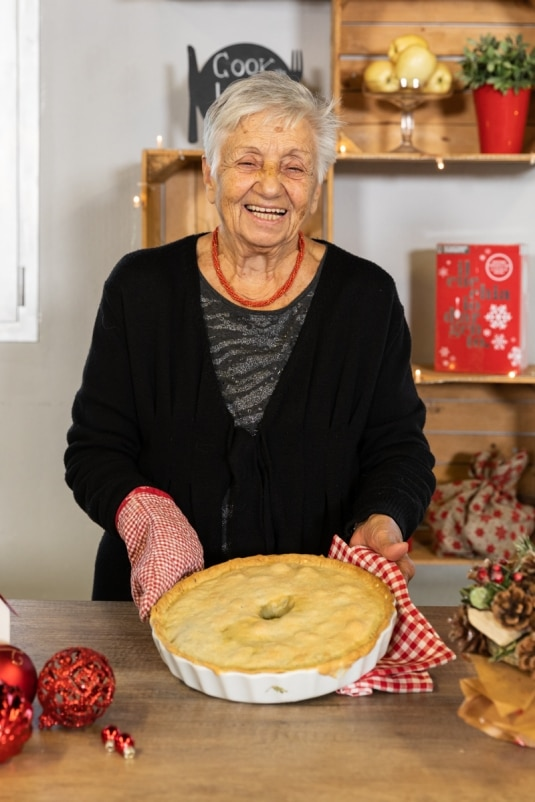 Pizza di scarola di nonna Marisa