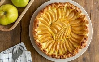 Torta di pasta sfoglia alle mele