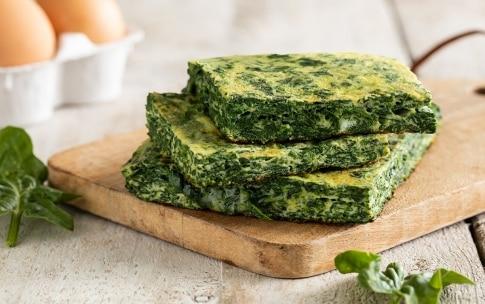 Preparazione Frittata di spinaci - Fase 4