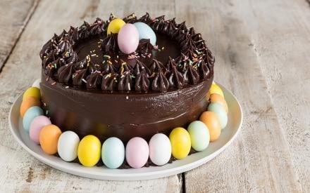 Torta di Pasqua al cioccolato