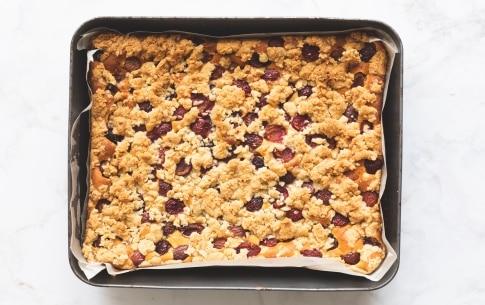 Preparazione Crumb cake alle ciliegie di Vignola - Fase 5
