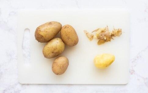 Preparazione Polpettone di zucchine - Fase 1
