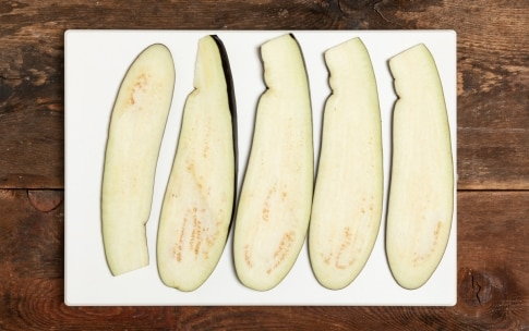 Preparazione Rotolo di melanzane al forno - Fase 1