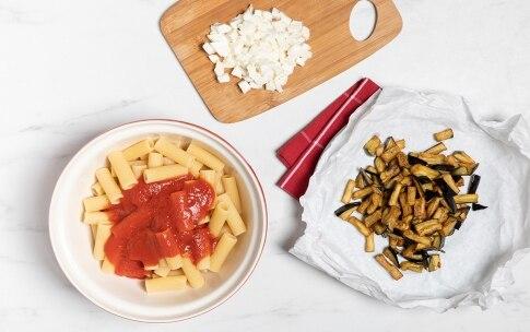 Preparazione Pasta alla siciliana - Fase 2