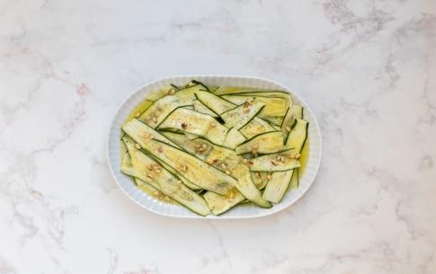 Preparazione Carpaccio di zucchine - Fase 1