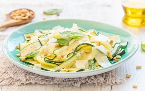 Preparazione Carpaccio di zucchine - Fase 2