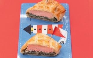 Fagottini di salmone e spinaci