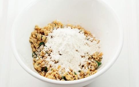 Preparazione Falafel di ceci con salsa allo yogurt - Fase 1